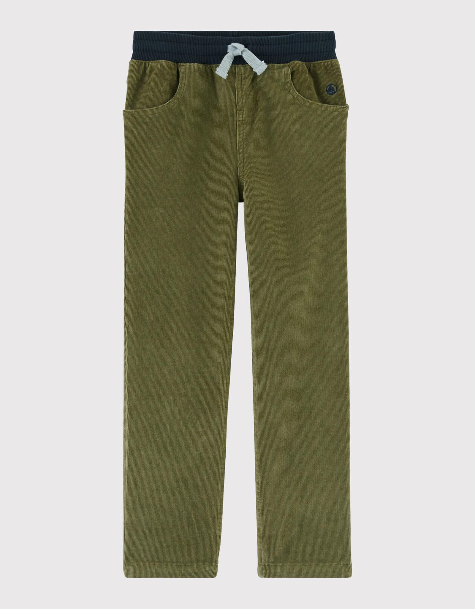 Petit Bateau Velvet Trousers