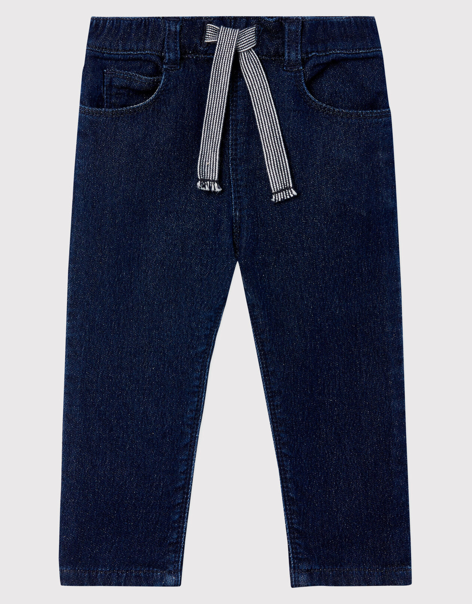 Baby's denim-look knit trousers