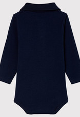 Petit Bateau Bodysuit with polo neck