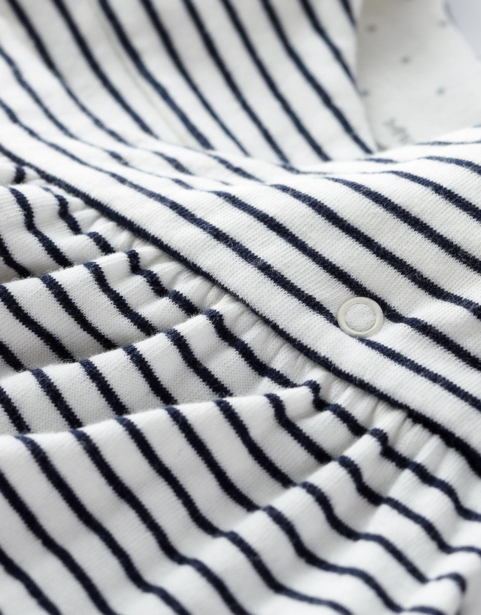 Tube-Knit Striped Dress