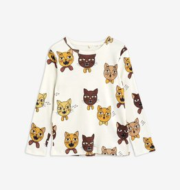 Mini Rodini Cat choir t-shirt