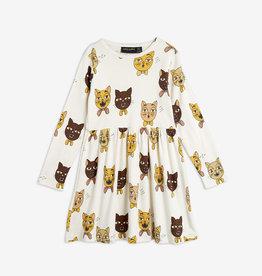 Mini Rodini Robe Chorale de chats