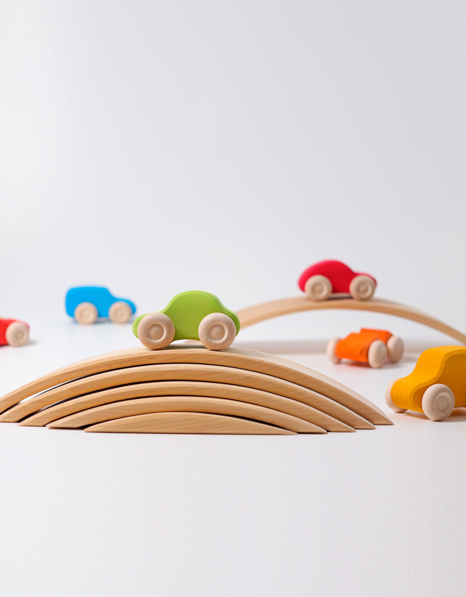 Grimm's Colored Wooden Car