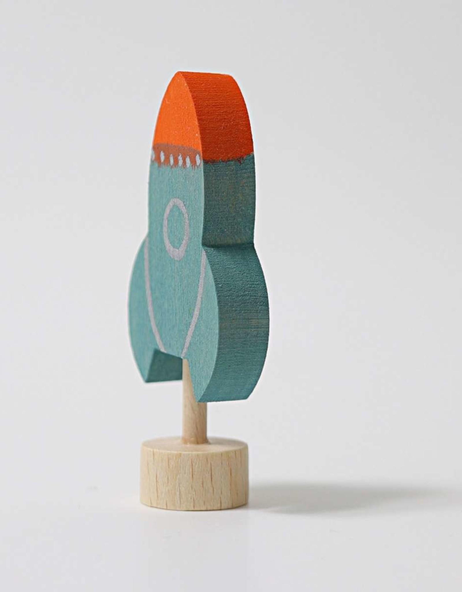 Grimm's Decorative Figure Rocket