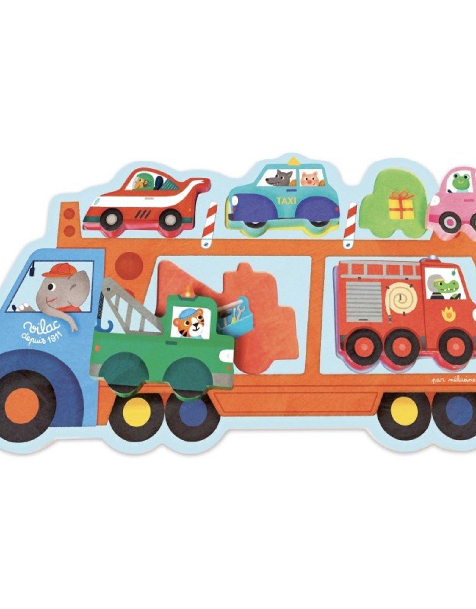Vilac Truck Transport Puzzle