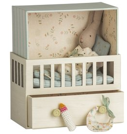 Maileg Baby Room Music Box with Micro Rabbit