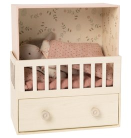 Maileg Baby Room Music Box with Micro Bunny