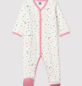 Petit Bateau Baby' Confetti Sleepsuit