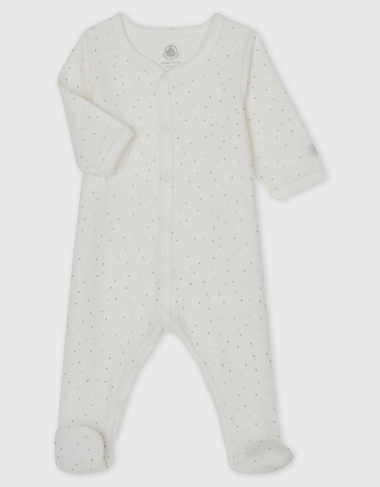 Petit Bateau Pyjama, à imprimé étoiles