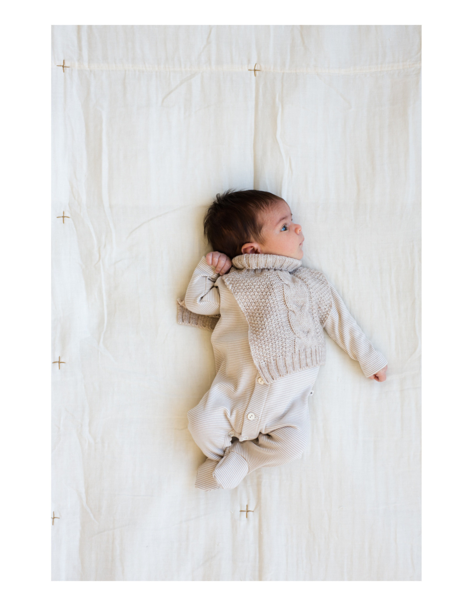 1+ in the family Monch Sleeveless Cardigan