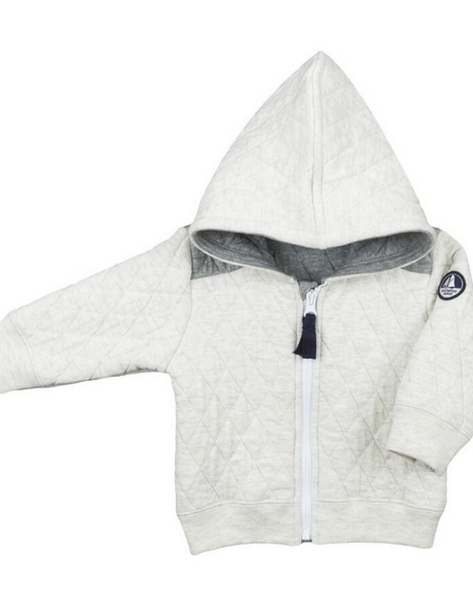 Petit Bateau Hooded cardigan