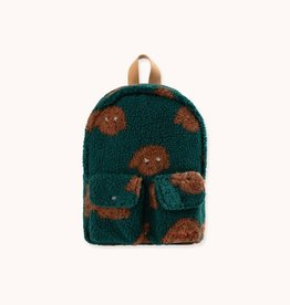 "Tinycottons ""Tiny Dog"" Small Sherpa Backpack"