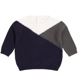 Tricolor sweater