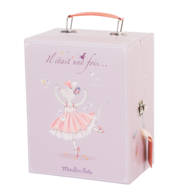 Moulin Roty Mouse dancer suitcase