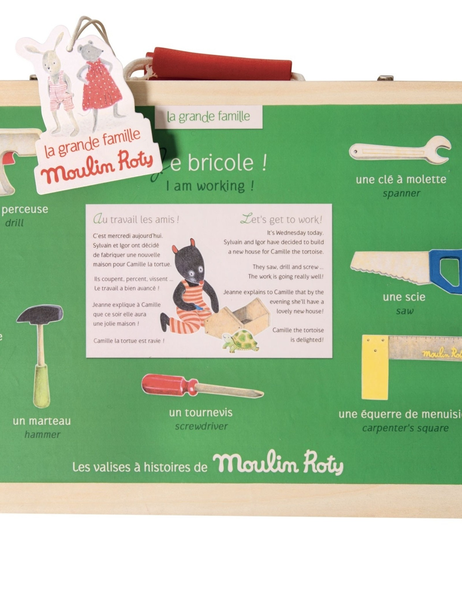 Moulin Roty DIY Suitcase