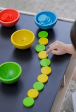 Plan Toys Sort & Count Cups