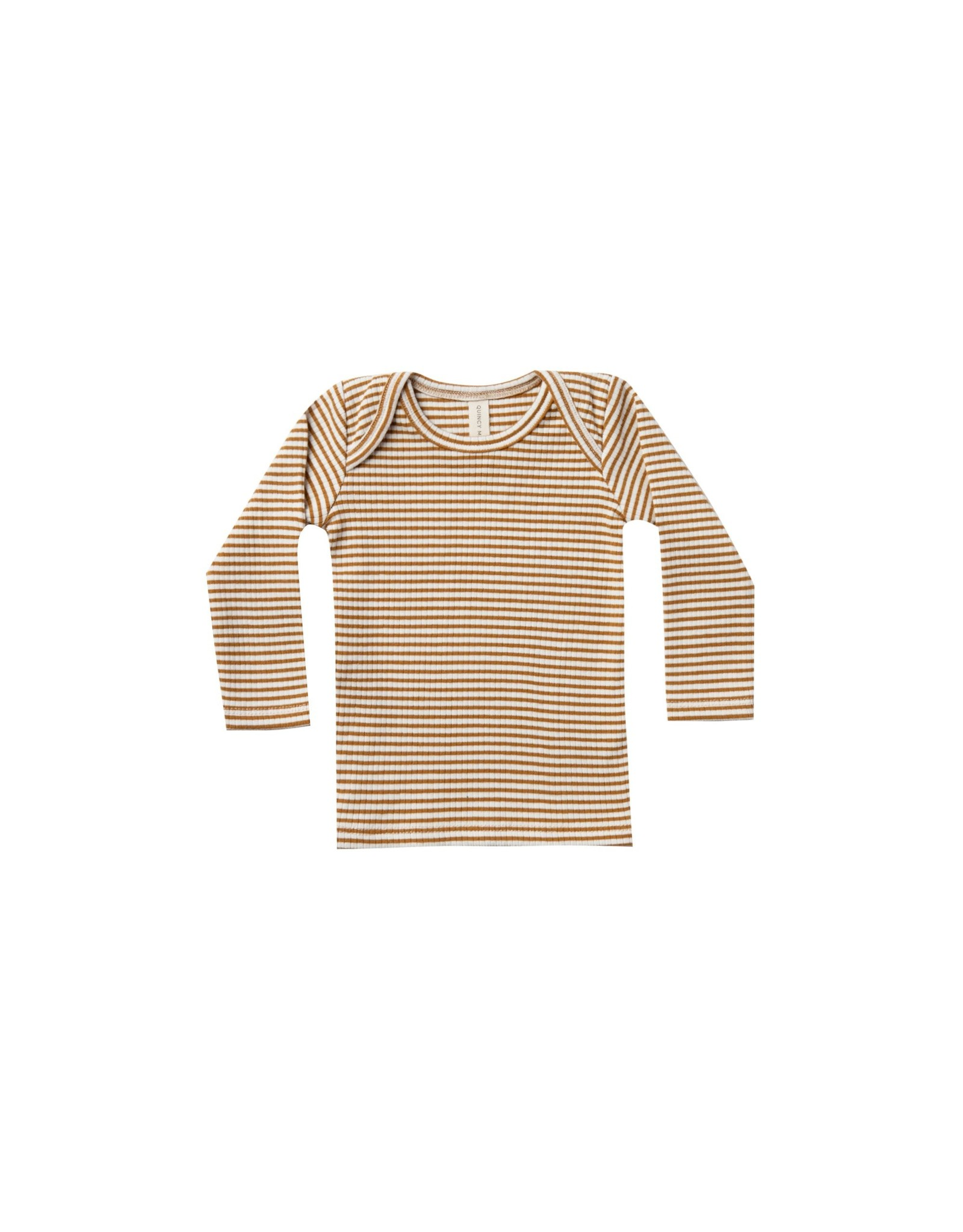 Quincy Mae Ribbed tee