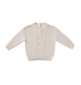 Quincy Mae Chandail à tricot torsadé