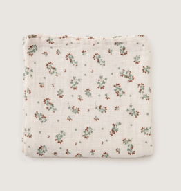 Garbo and friends Clover Muslin Swaddle Blanket