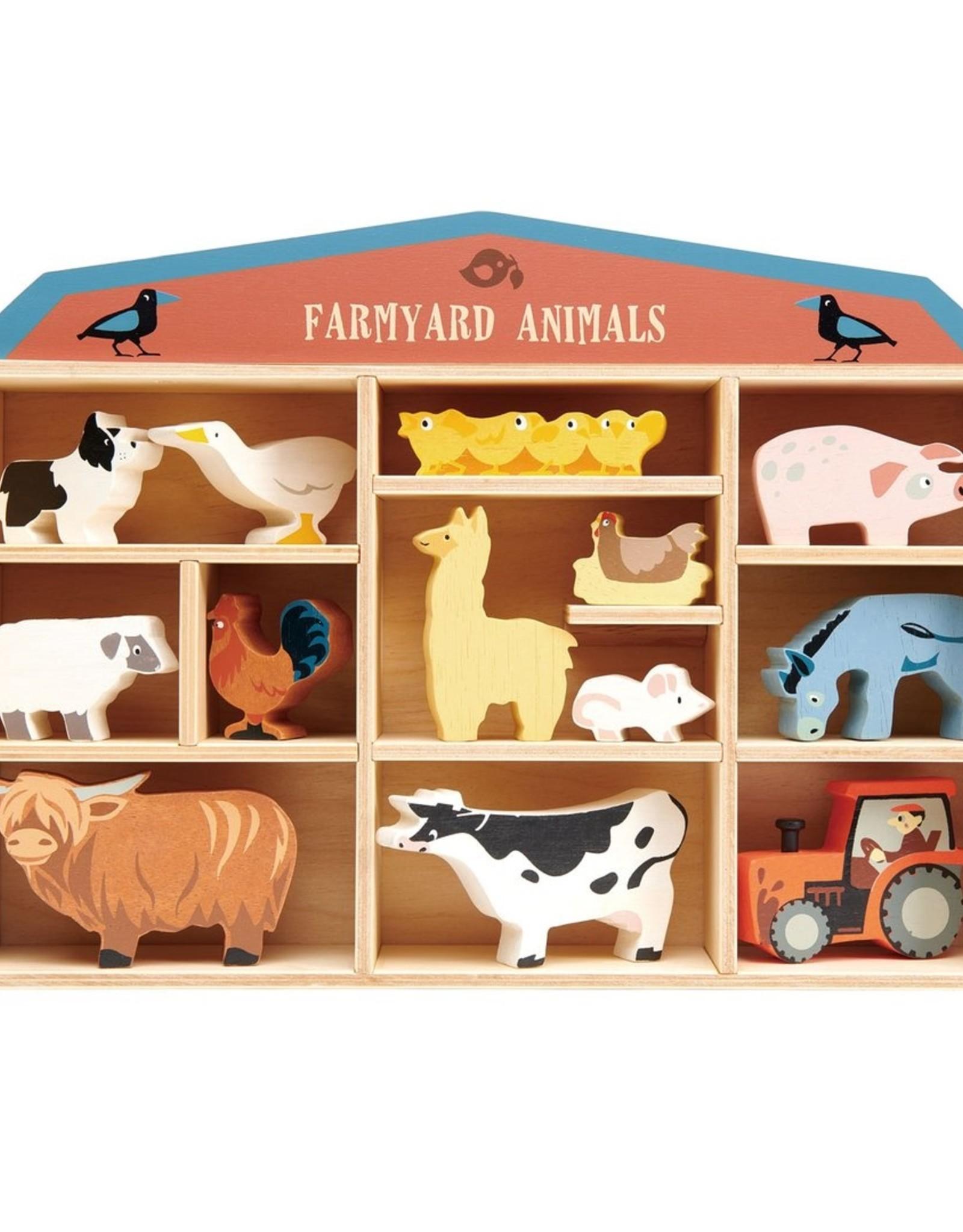 Tender leaf toys Animaux de la ferme