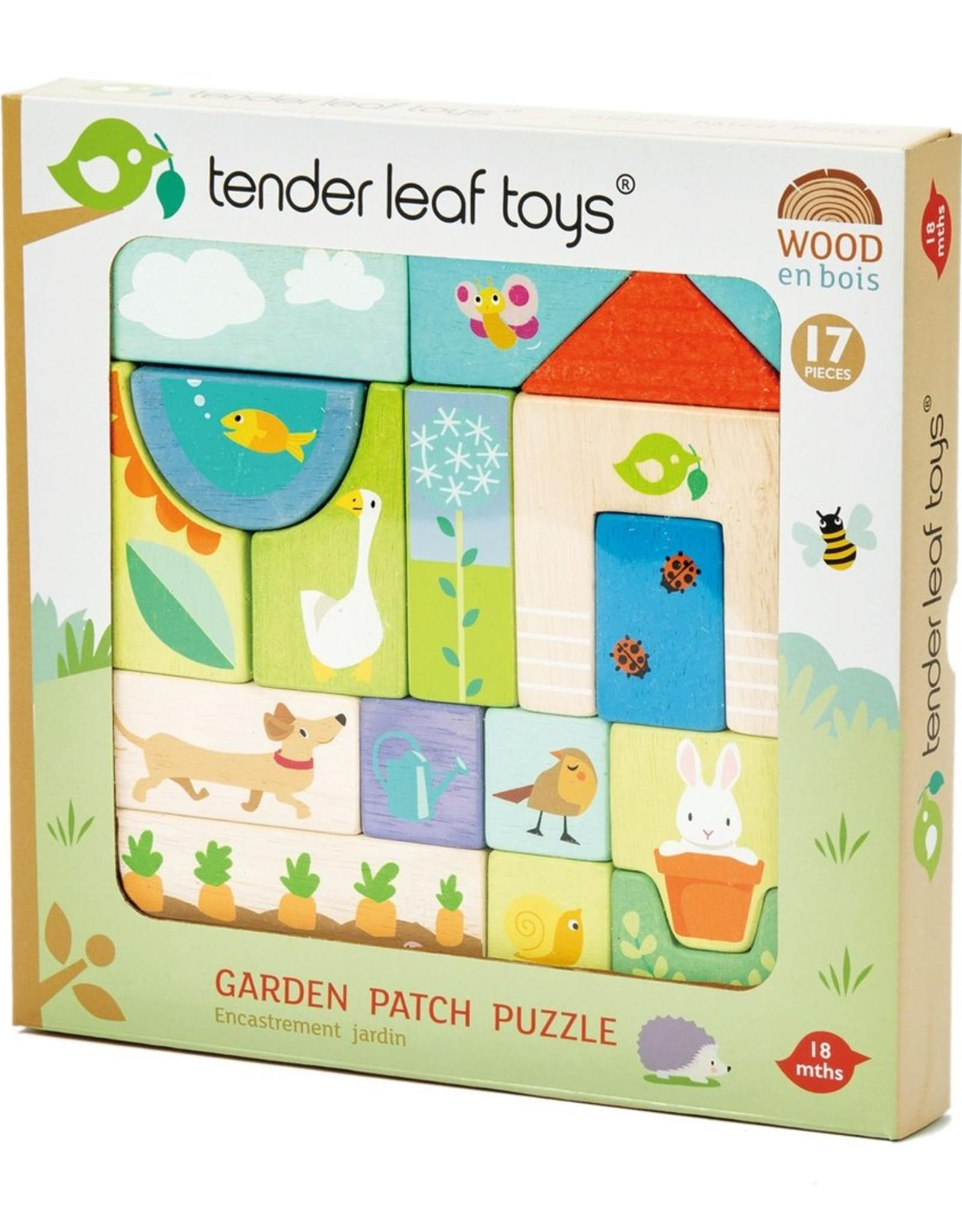 Tender leaf toys Casse-tête Jardin