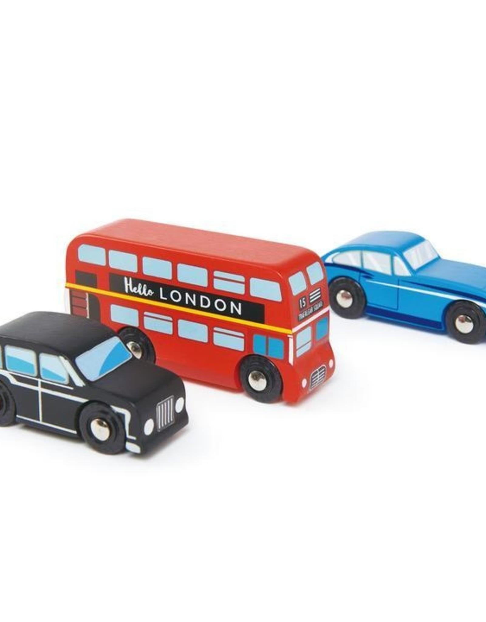 Tender leaf toys Ensemble de voitures de Londres