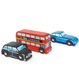 Tender leaf toys London Car Set