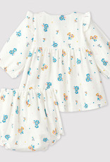 Petit Bateau Floral dress with bloomers