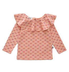 Ruffle Collar Shirt