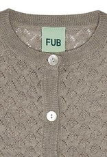 Fub Baby pointelle cardigan