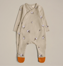 Organic Zoo Cottonfield Suit with contrast feet