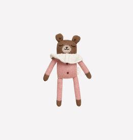 Main Sauvage Doudou Ourson en pyjama