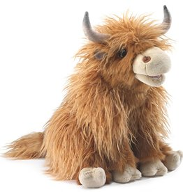 Folkmanis Cow Highland Puppet