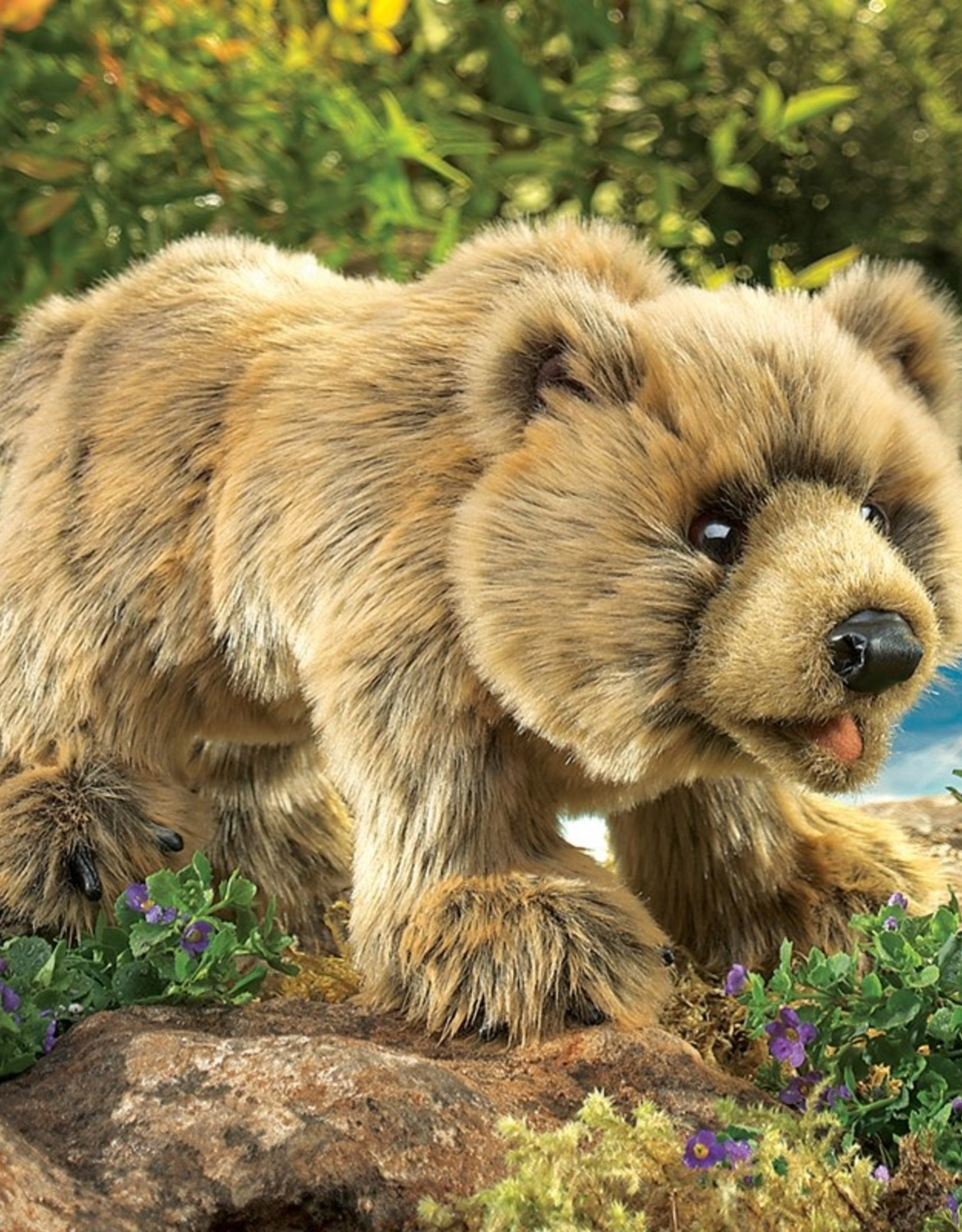 Folkmanis Marionnette Ours Grizzly
