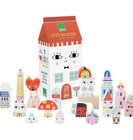 Vilac Tiny City Cubes