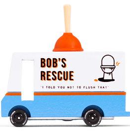 candylab Plumbing Van Bob's Rescue