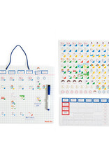 Moulin Roty Ma Semaine (Magnetic Weekly Planner)