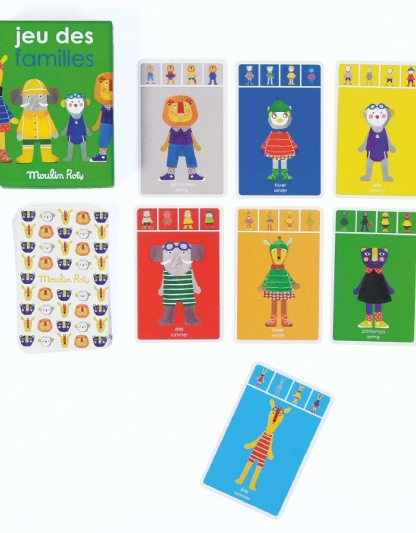 Moulin Roty Les Popipop 7 family Game