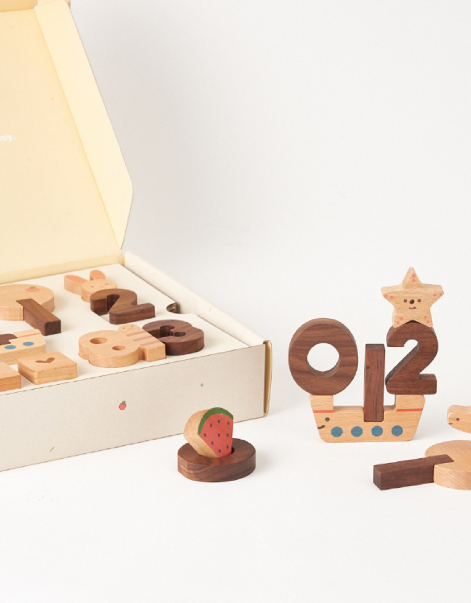 Oioiooi Numbers Play Block Set