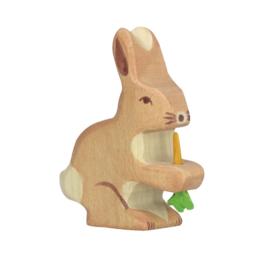 Holztiger Lièvre avec carotte