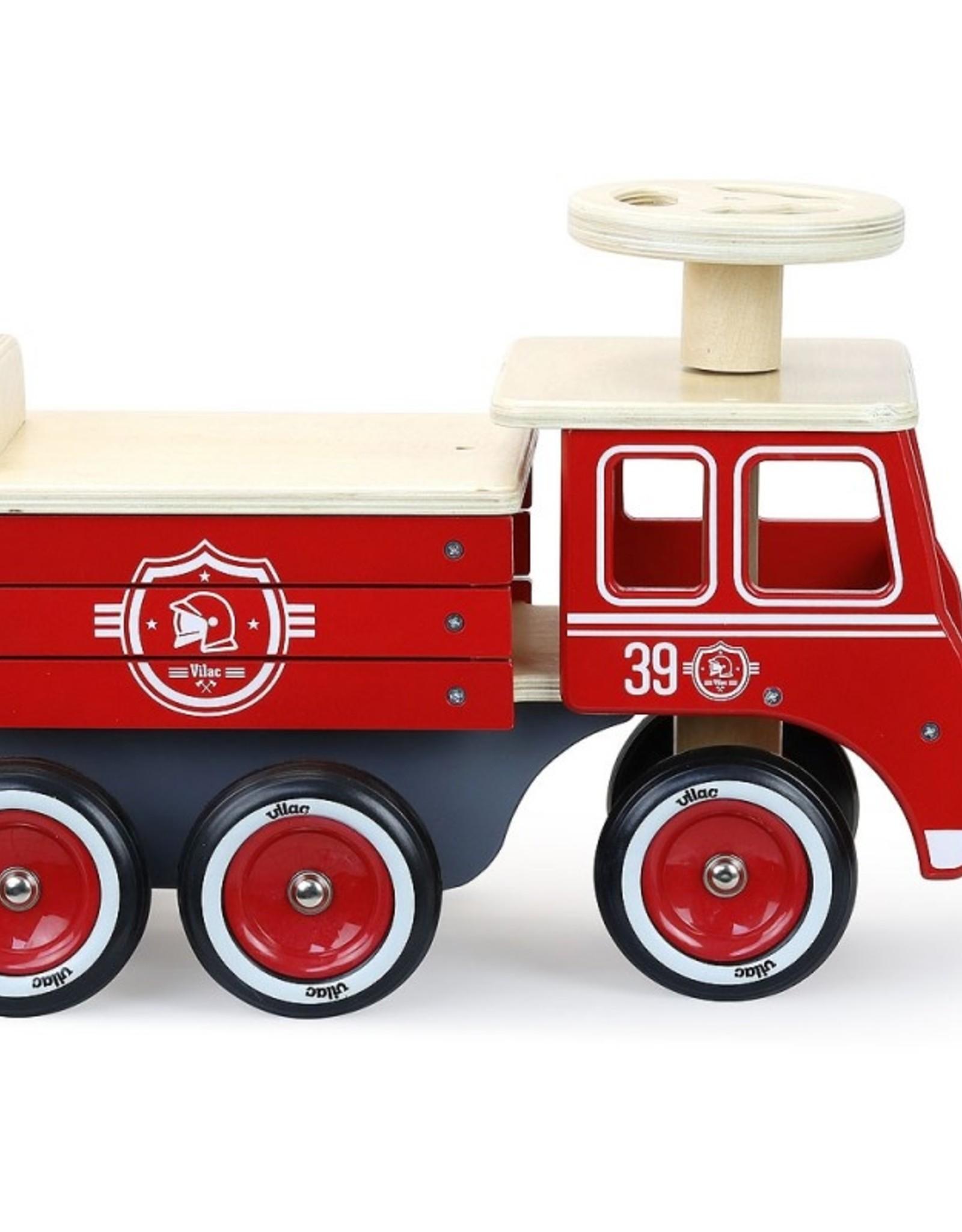 Vilac Porteur Camion de Pompiers
