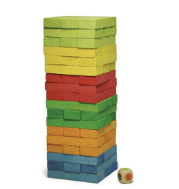 Jeujura Colorful Infernal Tower - Cardboard Box