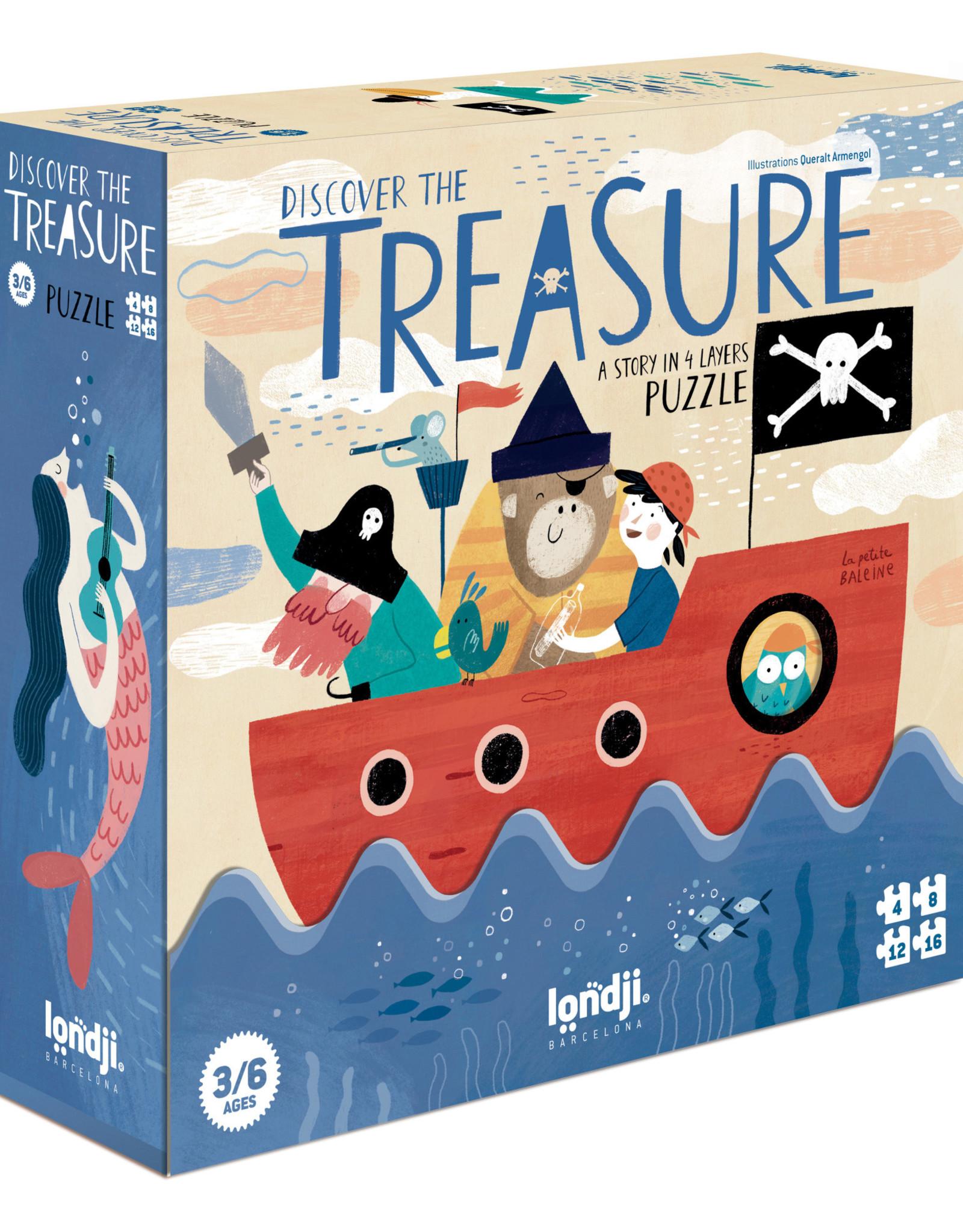 Londji Discover The Treasure Overlay Puzzle