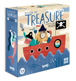 Londji Discover The Treasure Overlay Puzzle