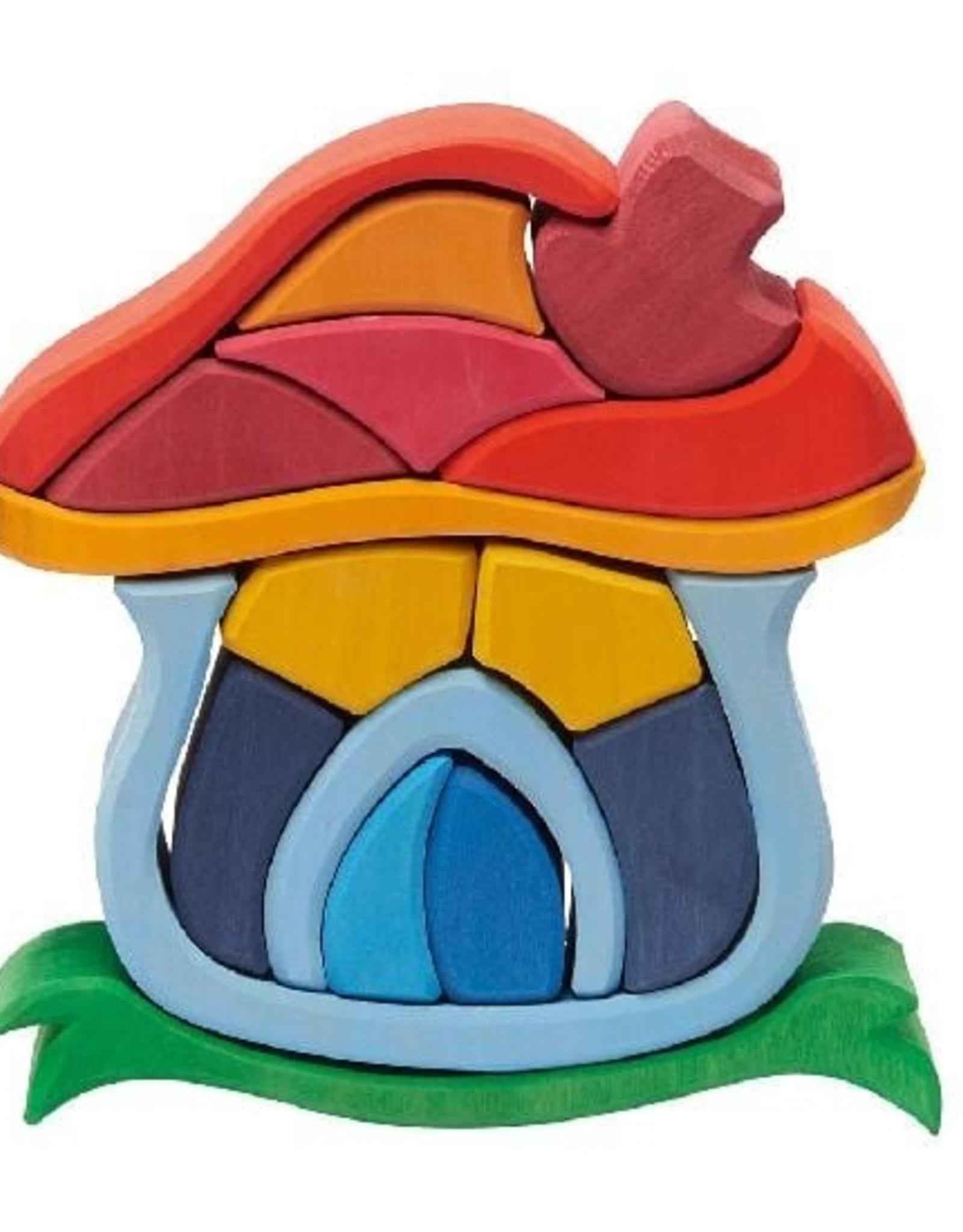 Gluckskafer Mushroom House