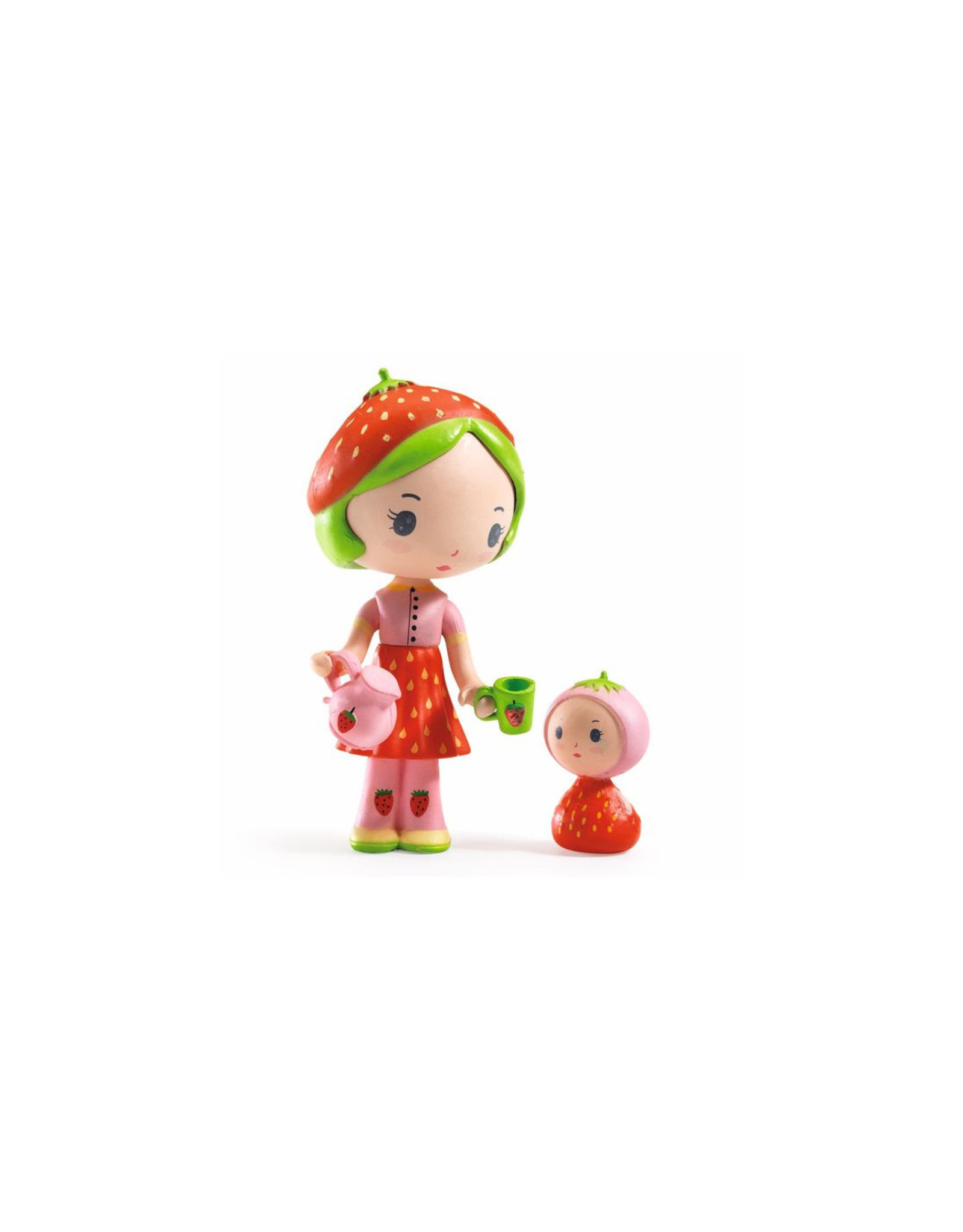 Djeco Berry and Lila Tinyly figurines