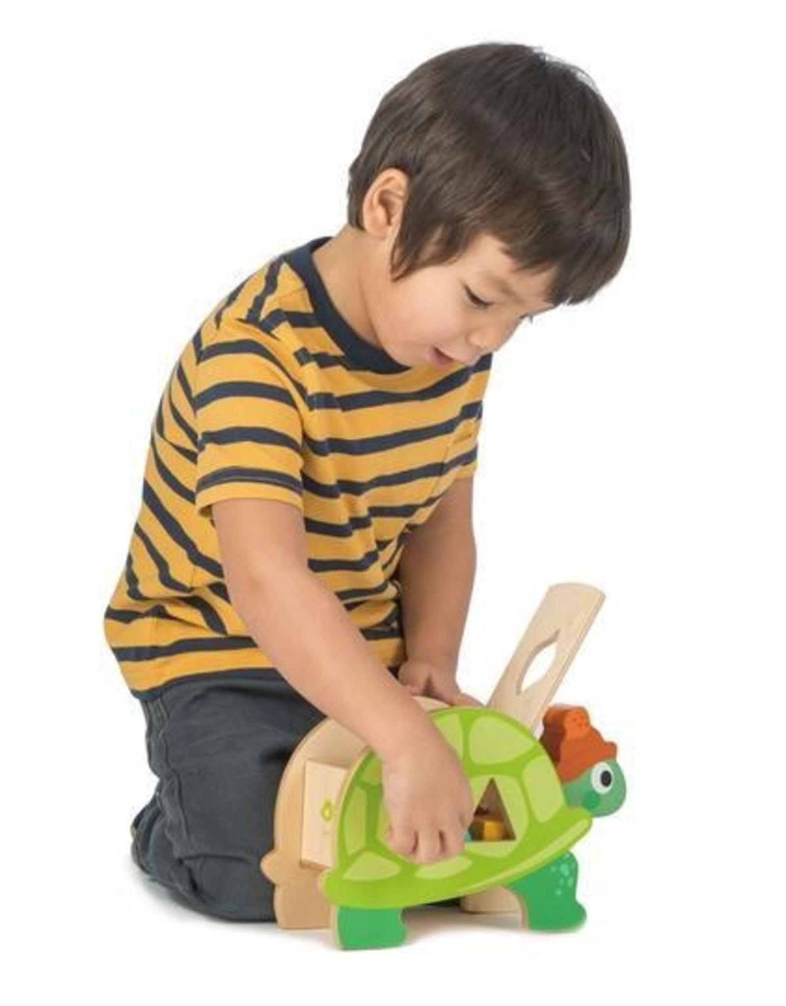 Tender leaf toys Tortue Trieuse de formes