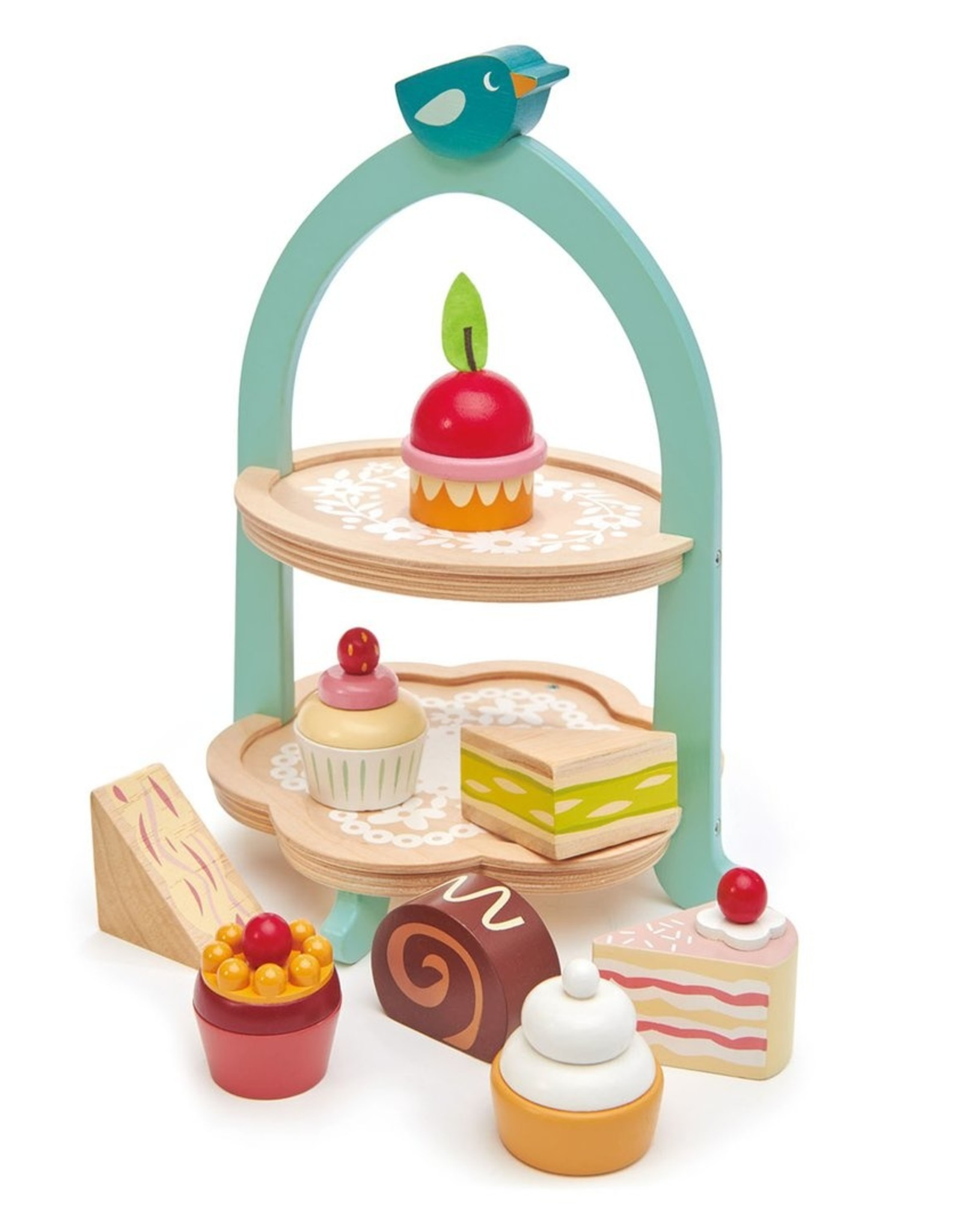 Tender leaf toys Birdie Afternoon Tea Stand