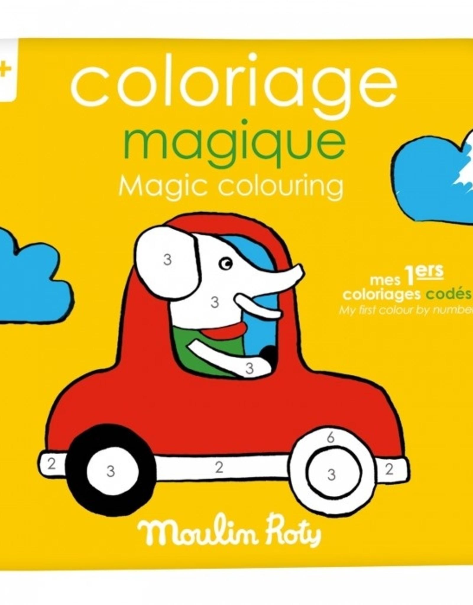 Colouring book - Coloriage Magique