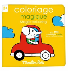 Moulin Roty Cahier Coloriage Magique